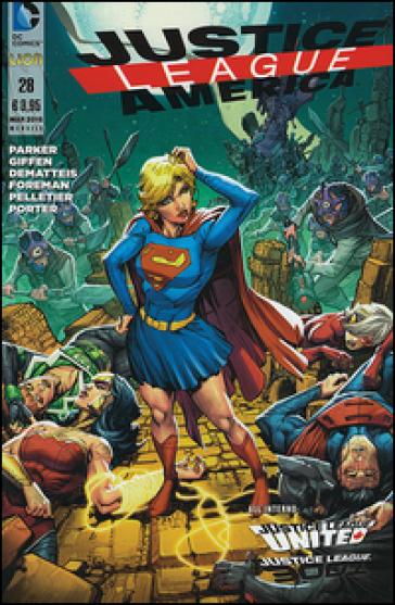 Justice League America. 28. - Jeff Parker |