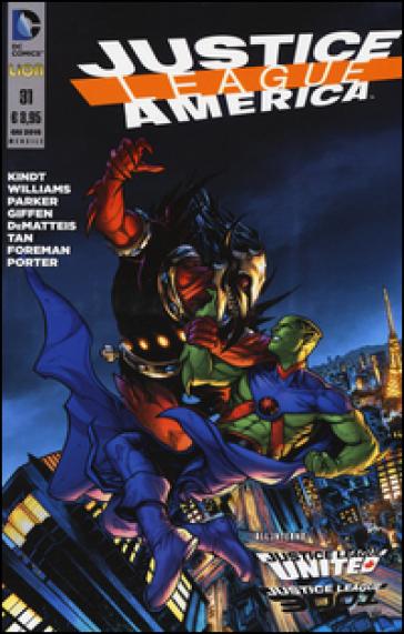Justice League America. 31. - M. Mezzanotte  