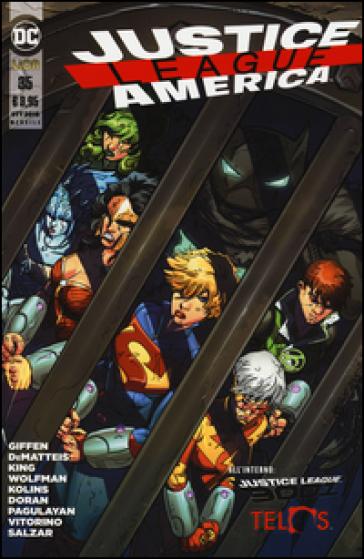 Justice League America. 35. - D. Mattaliano  