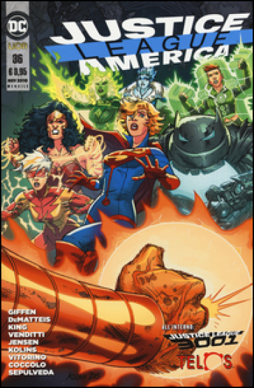 Justice League America. 36. - Keith Giffen |
