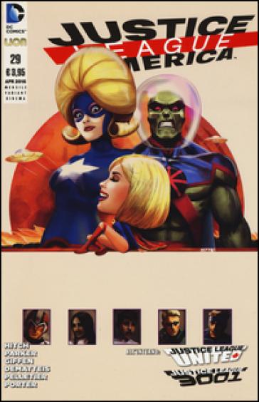 Justice League America. Variant cinema. 28. - Jeff Parker |