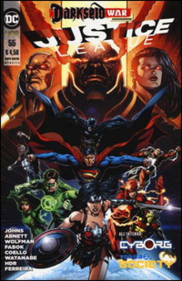 Justice league. 55. - Geoff Johns |
