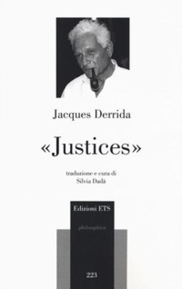 «Justices» - Jacques Derrida pdf epub