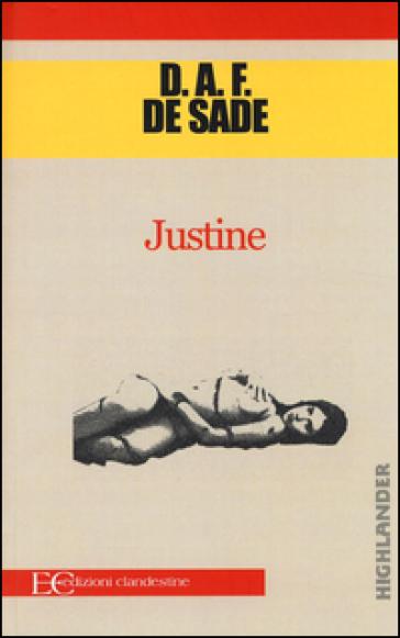 Justine - Donatien Alphonse François de Sade | Jonathanterrington.com