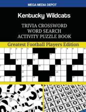 Kentucky Wildcats Trivia Crossword Word Search Activity Puzzle Book