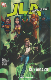 Kid amazo. JLA classified. 6.