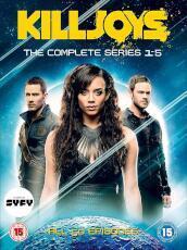 Killjoys Season 1-5 Set (10 Dvd) [Edizione: Regno Unito]