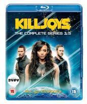 Killjoys Season 1-5 Set (10 Blu-Ray) [Edizione: Regno Unito]