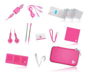 Kit 14 in 1 Travel Rosa 3DS DSI DSLITE