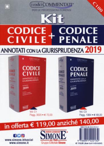 Kit Codice civile + Codice penale annotati con la Giurisprudenza - L. Ciafardini  