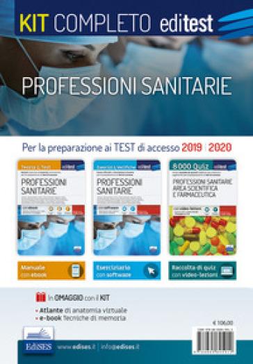 Kit completo professioni sanitarie. Per i test di accesso ai corsi di laurea triennale delle professioni sanitarie. Con 2 e-book. Con software di simulazione