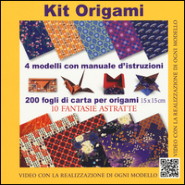 Kit origami. 10 fantasie astratte. Con gadget