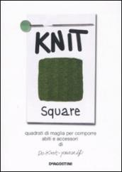 Knit square. Quadrati di maglia per comporre abiti e accessori di Do-Knit-yourself