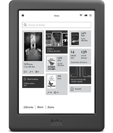 Kobo Touch 2.0 Black