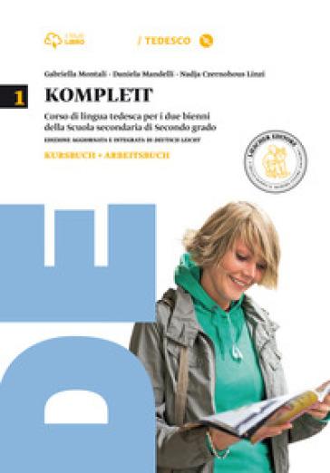 Komplett. Kursbuch-Arbeitsbuch-Fundgrube-Fit-Grammatik à la carte. Per le Scuole superiori. Con CD-ROM. Con e-book. Con espansione online. 1. - Gabriella Montali |