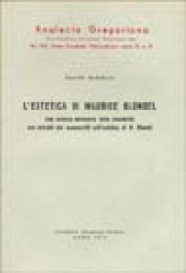 L'estetica di Maurice Blondel - Sante Babolin | Kritjur.org