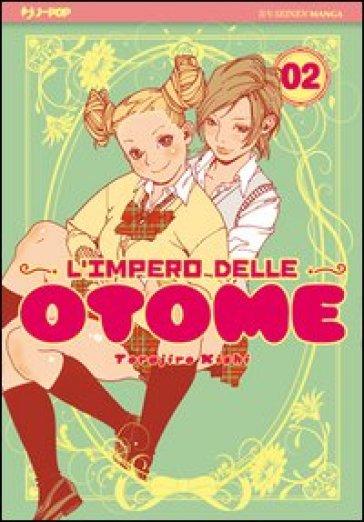 L'impero delle Otome. 2. - Kishi Torajiro   Rochesterscifianimecon.com