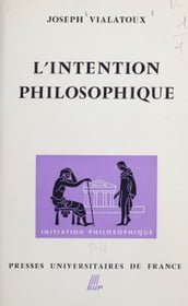 L intention philosophique (1)