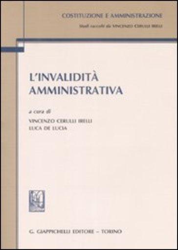 L'invalidità amministrativa - V. Cerulli Irelli   Rochesterscifianimecon.com
