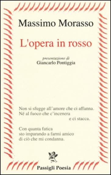 L'opera in rosso - Massimo Morasso |