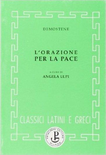 L'orazione per la pace - Demostene |