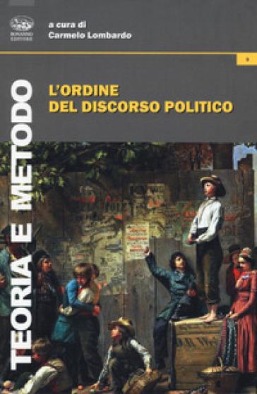 L'ordine del discorso politico - C. Lombardo |