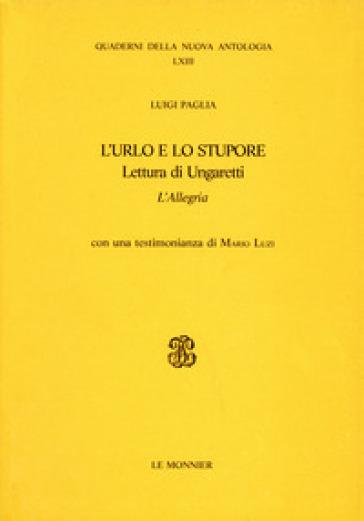 L'urlo e lo stupore - Luigi Paglia   Kritjur.org