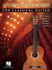 LLOYD WEBBER ANDREW FOR CLASSICAL GUITAR NOTATION & TAB BOOK