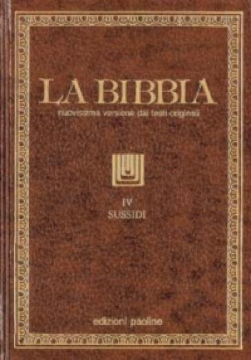 La Bibbia. 4.Sussidi
