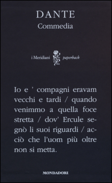 La Commedia - Dante Alighieri | Kritjur.org