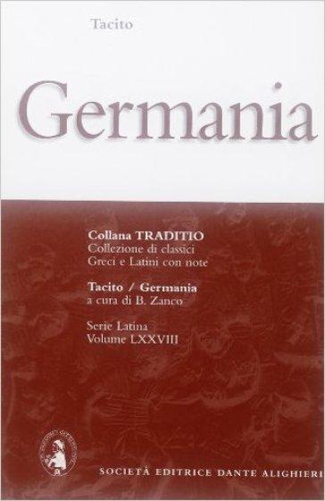 La Germania - Publio Cornelio Tacito |