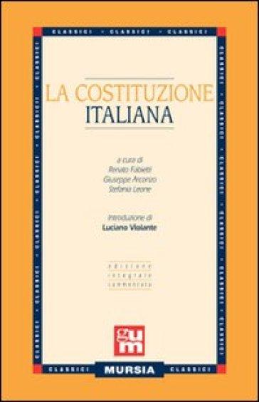 La costituzione italiana - R. Fabietti |