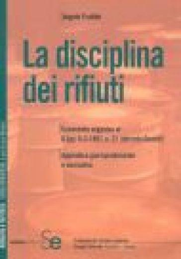 La disciplina dei rifiuti - Angelo Frattini pdf epub