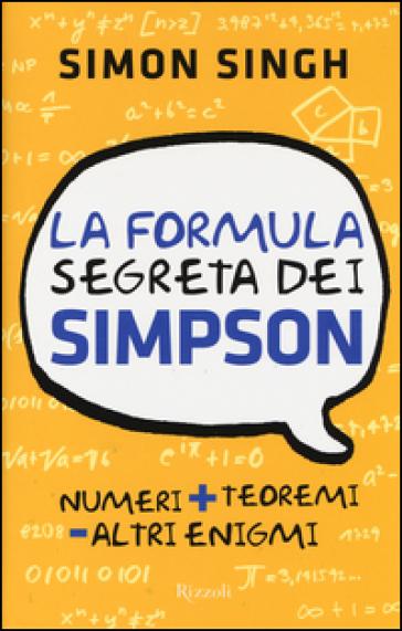 La formula segreta dei Simpson - Simon Singh | Thecosgala.com