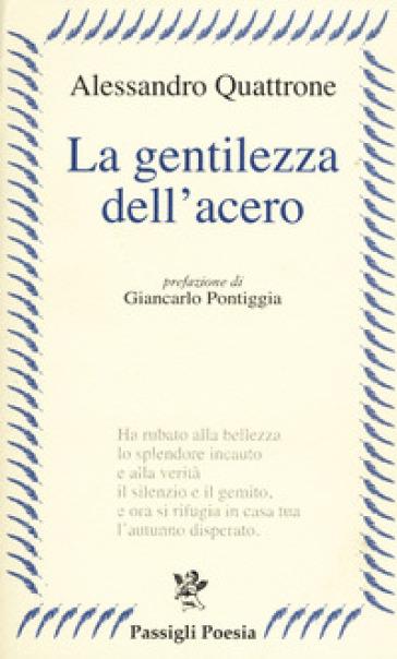 La gentilezza dell'acero - Alessandro Quattrone  