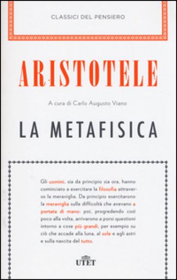 La metafisica. Con e-book - Aristotele |