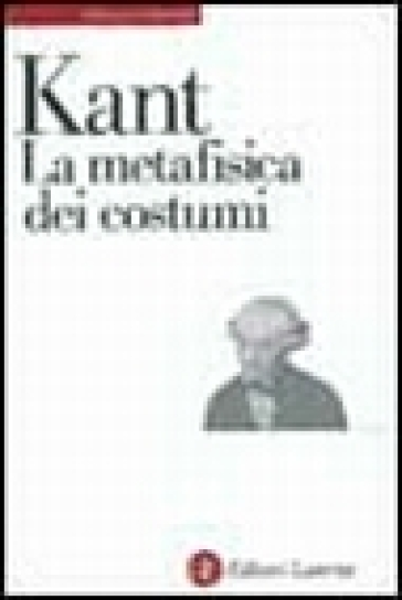 La metafisica dei costumi - Immanuel Kant pdf epub