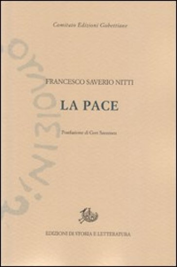 La pace - Francesco S. Nitti |