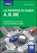 La patente di guida A, B, BE