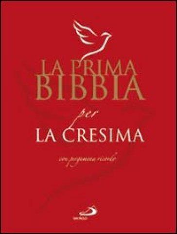 La prima Bibbia per la cresima