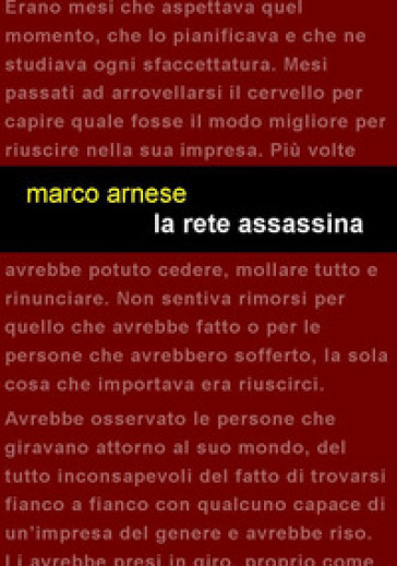 La rete assassina - Marco Arnese |