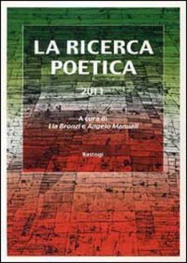 La ricerca poetica 2011 - L. Bronzi   Jonathanterrington.com