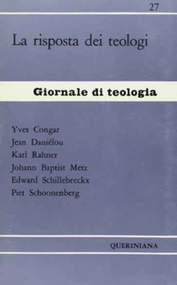 La risposta dei teologi - Yves Marie-Joseph Congar | Kritjur.org
