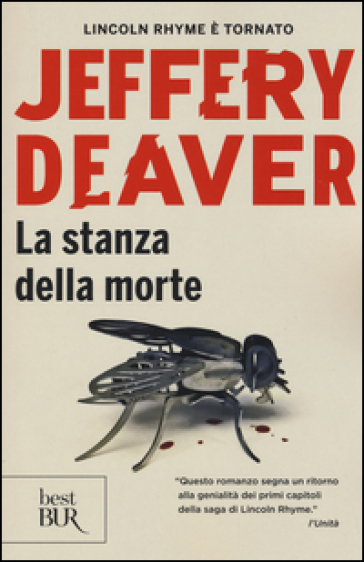 La stanza della morte - Jeffery Deaver   Rochesterscifianimecon.com