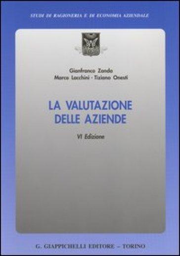 La valutazione delle aziende - Gianfranco Zanda |