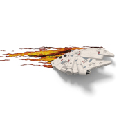 Lampada Led - Star Wars  Millennium Falcon