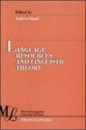 Language resources and linguistic theory