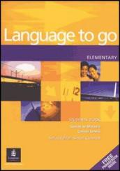 Language to go pre-intermediate. Student's book-Phrasebook. Per le Scuole superiori