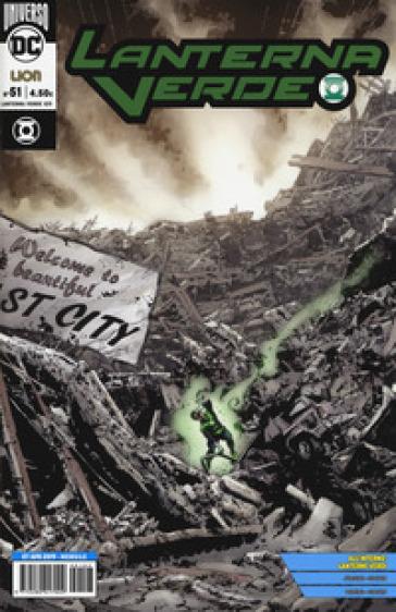 Lanterna Verde. 51. - F. Vanagolli |
