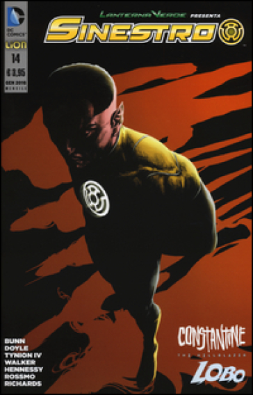 Lanterna verde presenta: Sinestro. 14. - S. Mozzi | Rochesterscifianimecon.com